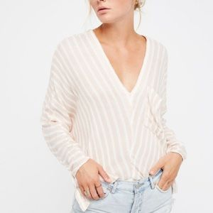 Free People • Morning Dolman Gauzy Blouse